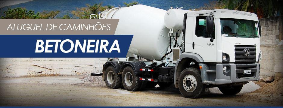 locação caminhão betoneira
