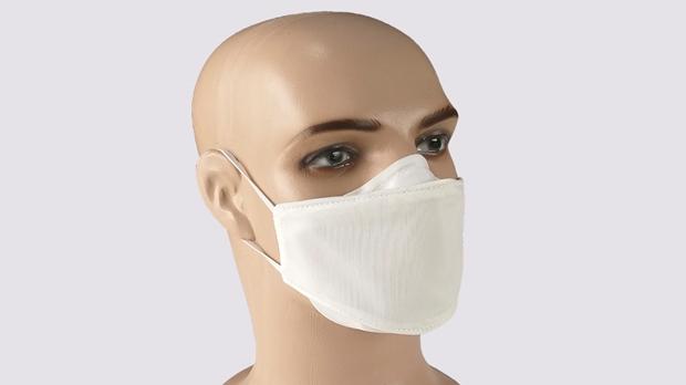 máscara que elimina o coronavírus