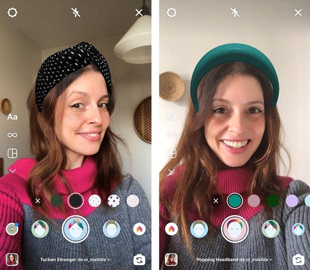 Marca de acessórios de cabelo lança Provador Virtual com tecnologia de realidade aumentada