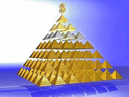pirâmide financeira, esquema ponzi