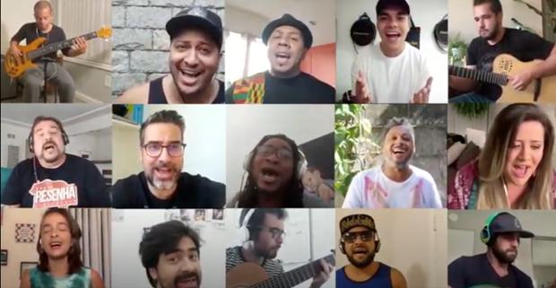 Músicos brasileiros na Califórnia adiam shows e investem em lives beneficentes
