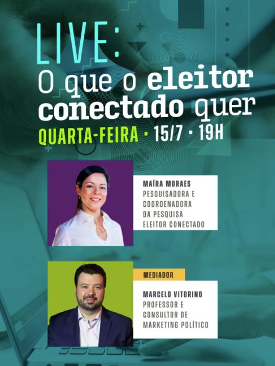 Pesquisa que identifica o perfil do eleitor conectado brasileiro é apresentada em webinar gratuito