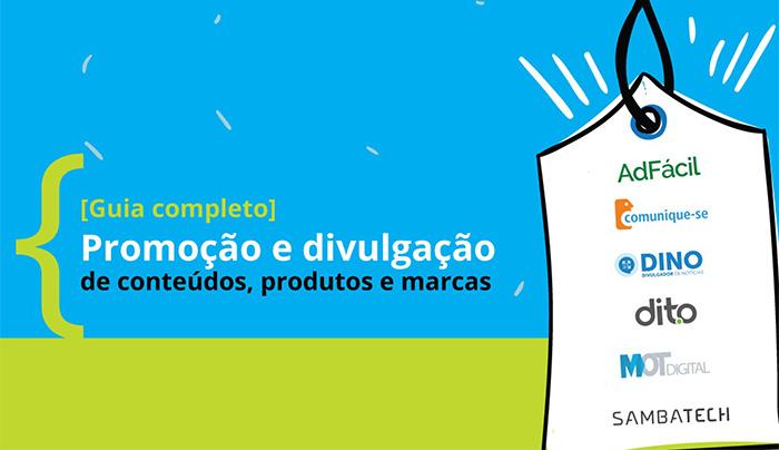 DINO e mais quatro empresas, produzem eBook gratuito sobre promoção e divulgação de conteúdos, produtos e marcas